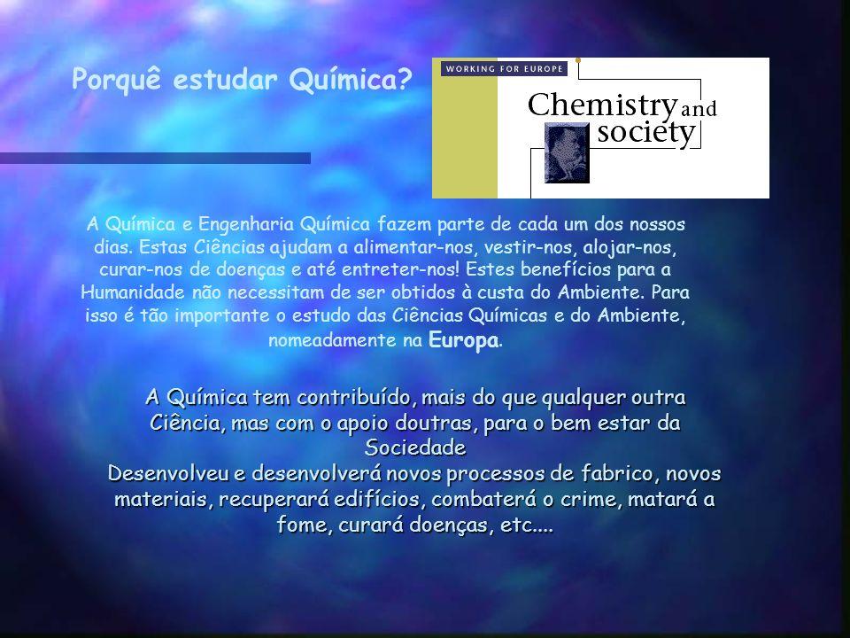 Porquê estudar Química