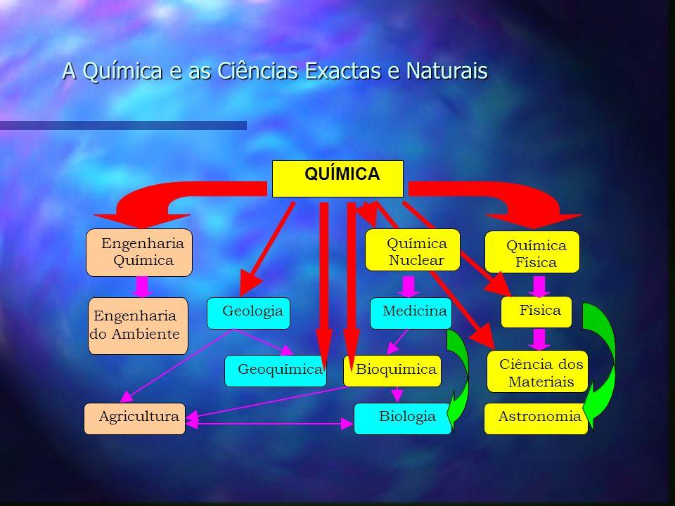A Química e as Ciências Exactas e Naturais