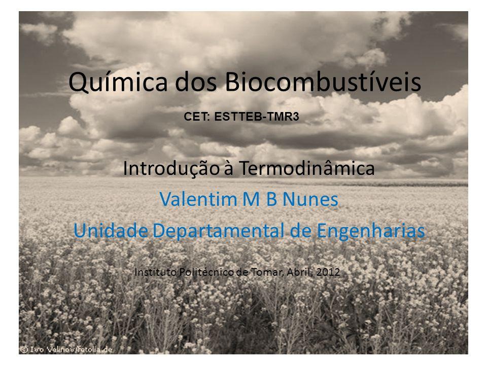 Química dos Biocombustíveis