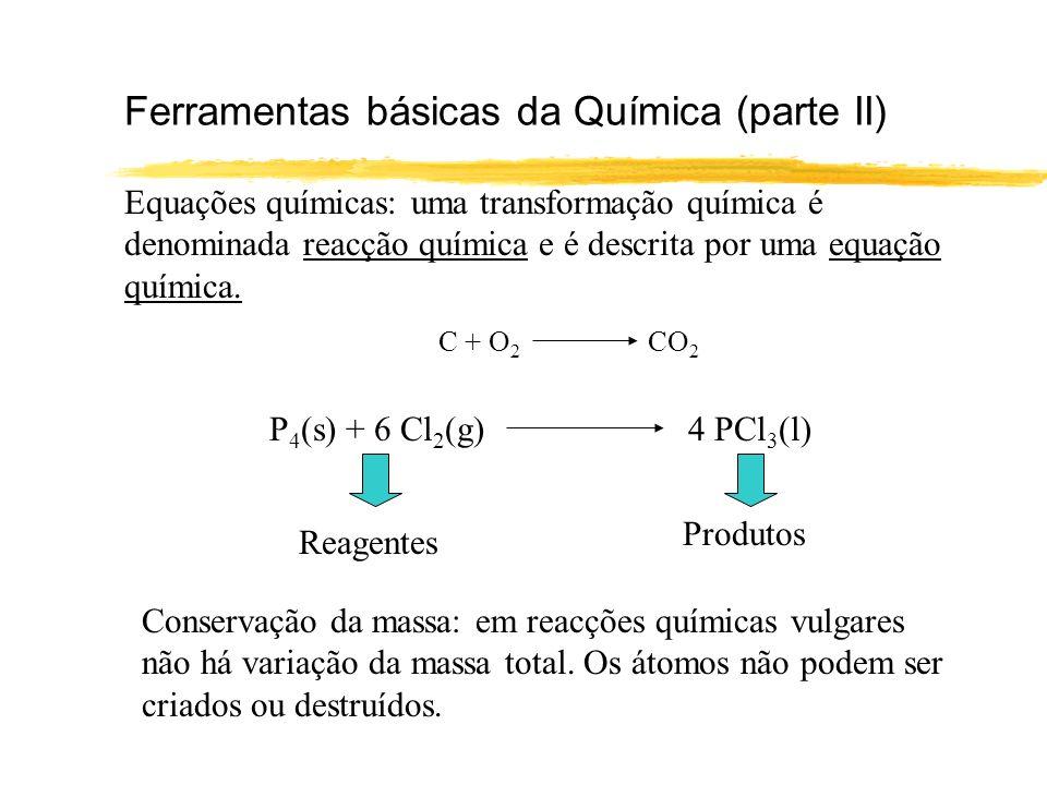 Ferramentas básicas da Química (parte II)
