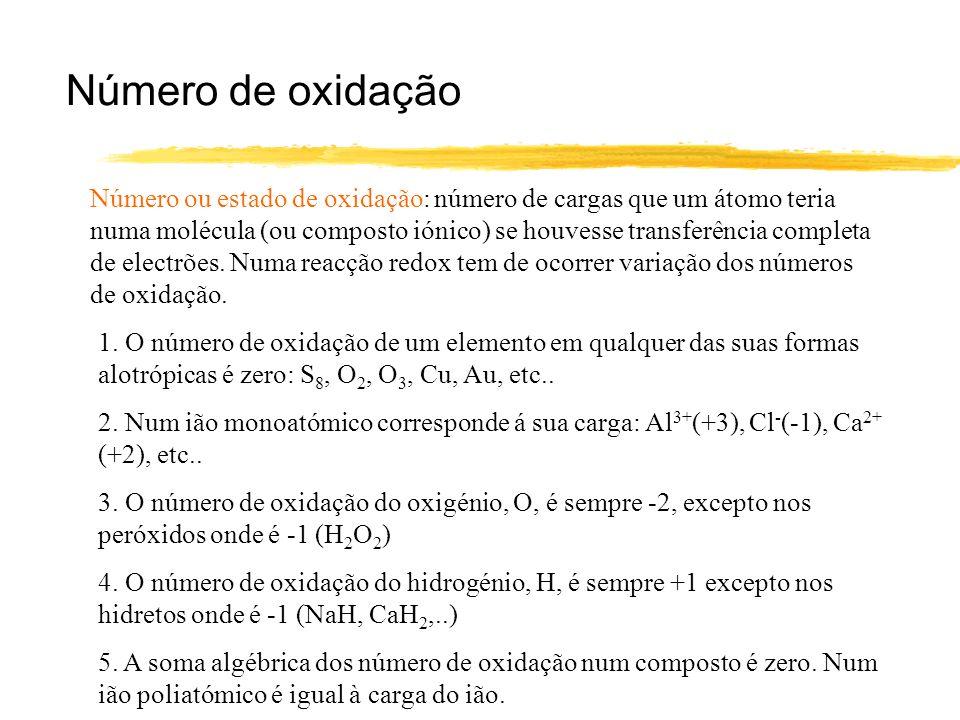 Número de oxidação