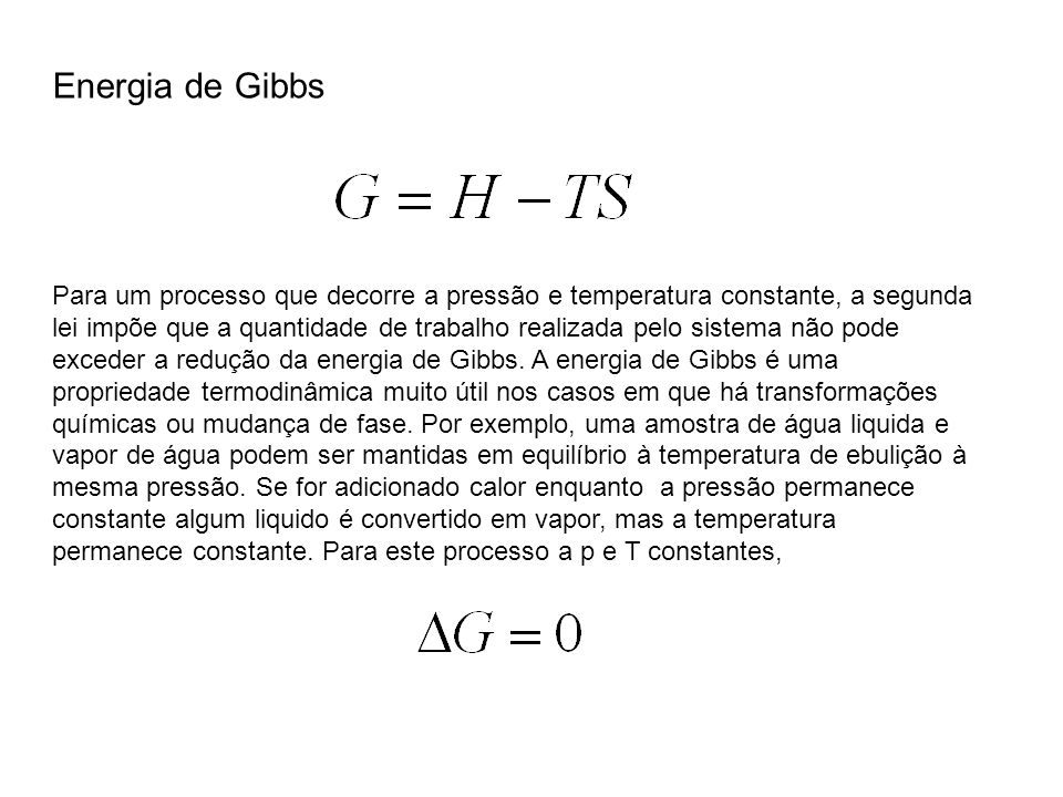 Energia de Gibbs