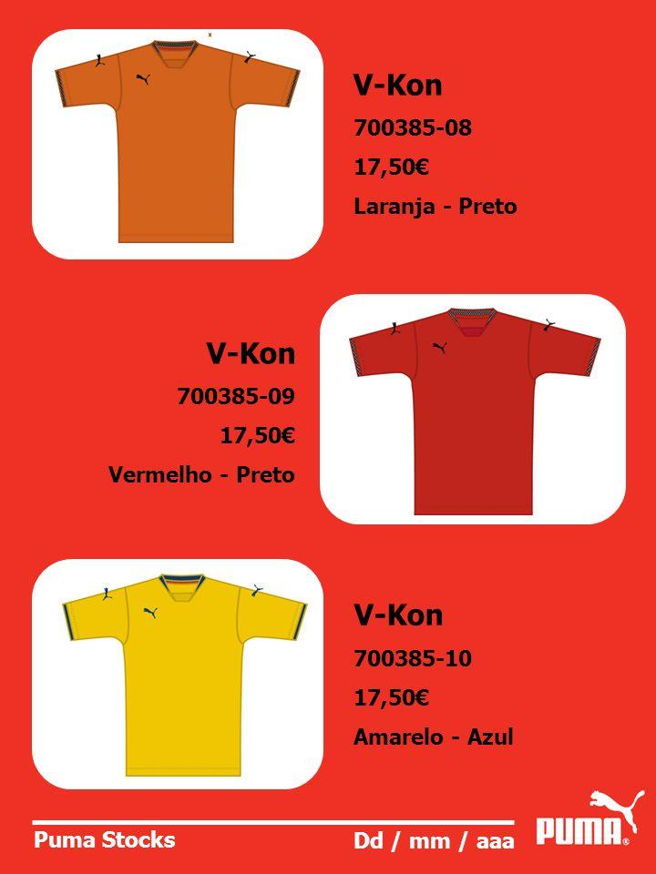 V-Kon V-Kon V-Kon 700385-08 17,50€ Laranja - Preto 700385-09 17,50€