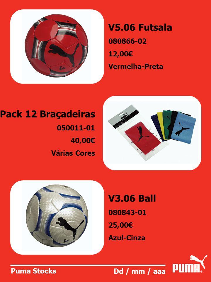 V5.06 Futsala Pack 12 Braçadeiras V3.06 Ball 080866-02 12,00€