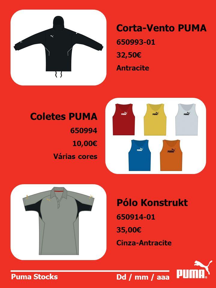 Corta-Vento PUMA Coletes PUMA Pólo Konstrukt 650993-01 32,50€