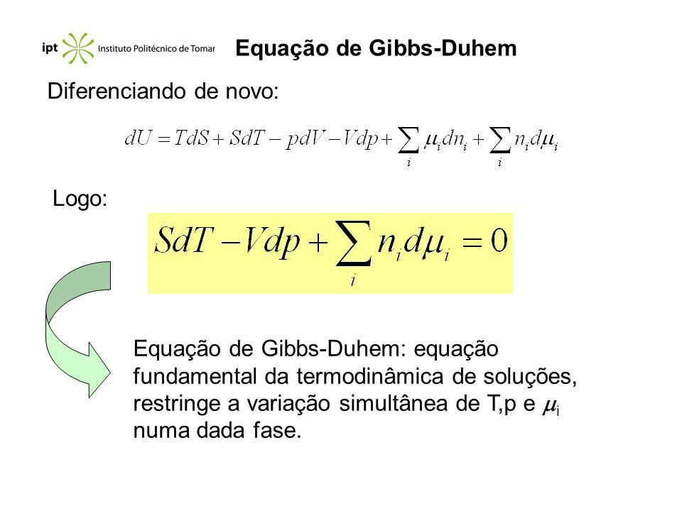 Equação de Gibbs-Duhem