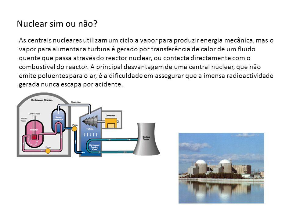 Nuclear sim ou não