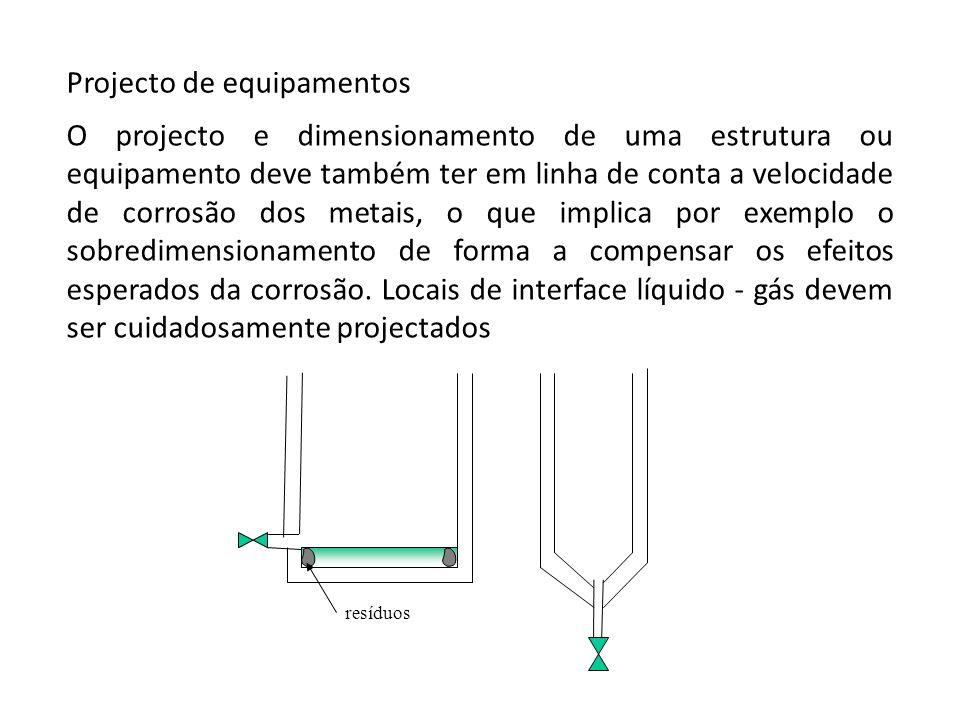 Projecto de equipamentos