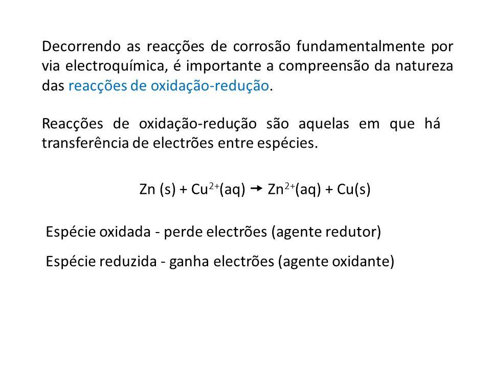 Zn (s) + Cu2+(aq)  Zn2+(aq) + Cu(s)