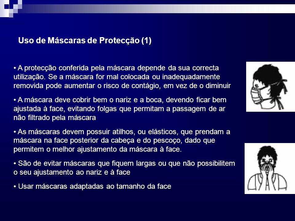 Uso de Máscaras de Protecção (1)