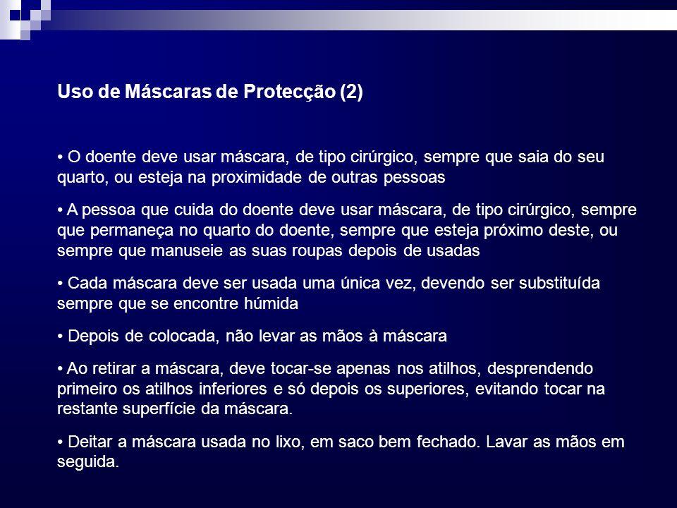 Uso de Máscaras de Protecção (2)