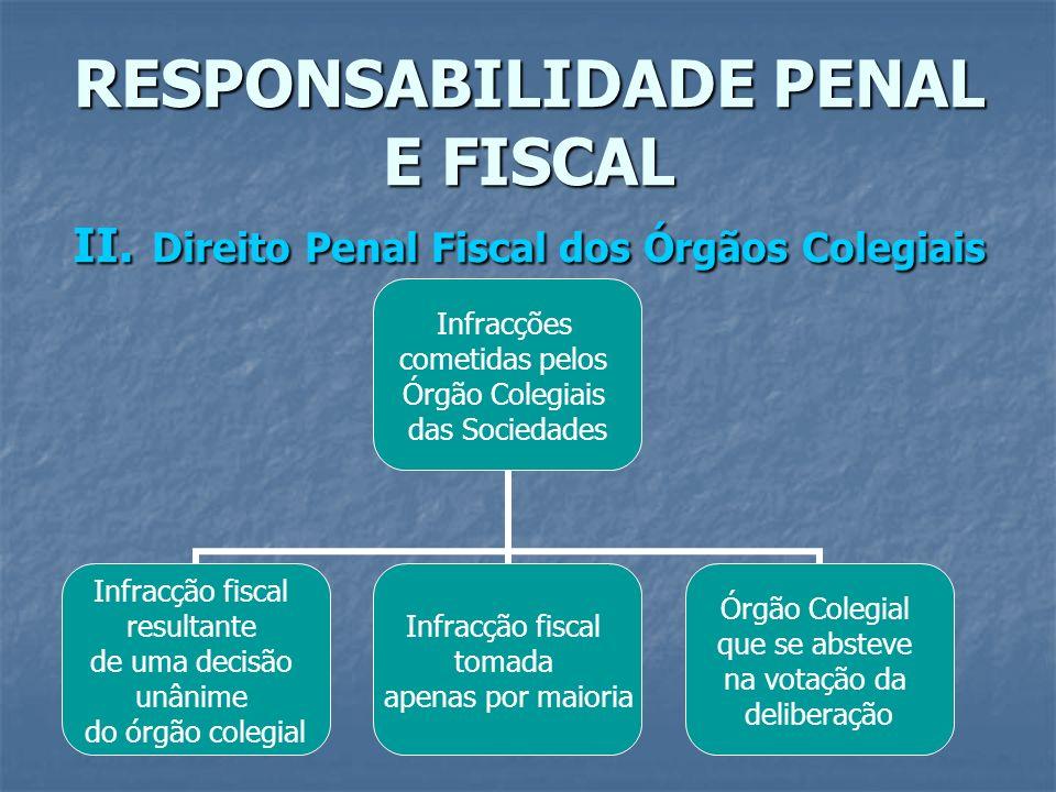 RESPONSABILIDADE PENAL E FISCAL II