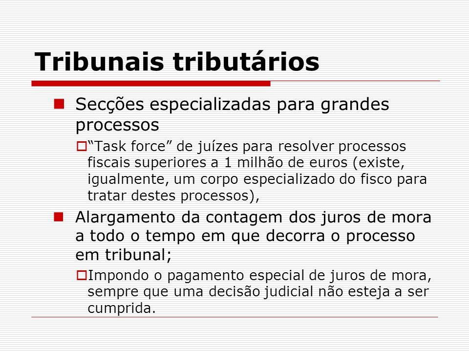 Tribunais tributários