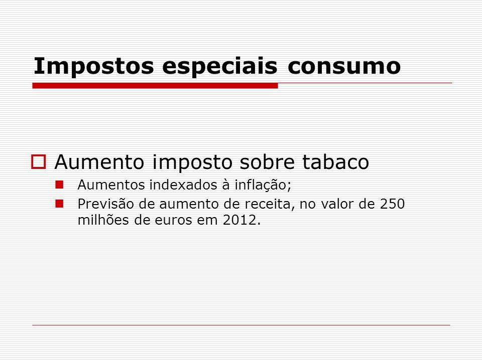 Impostos especiais consumo