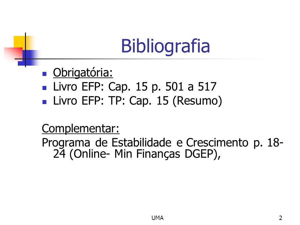 Bibliografia Obrigatória: Livro EFP: Cap. 15 p. 501 a 517