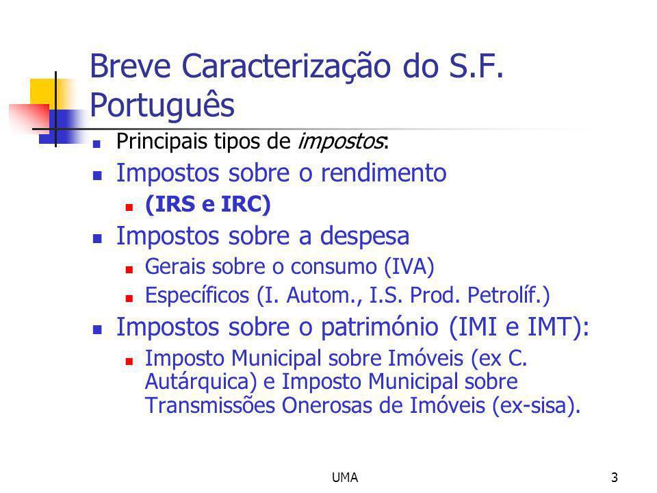 Breve Caracterização do S.F. Português