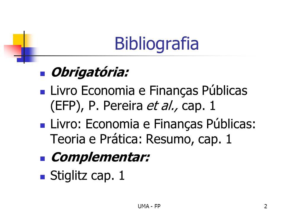 Bibliografia Obrigatória: