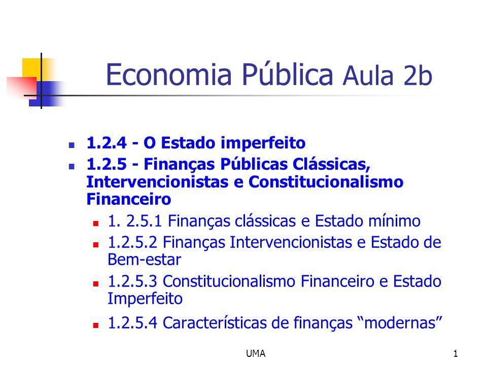 Economia Pública Aula 2b