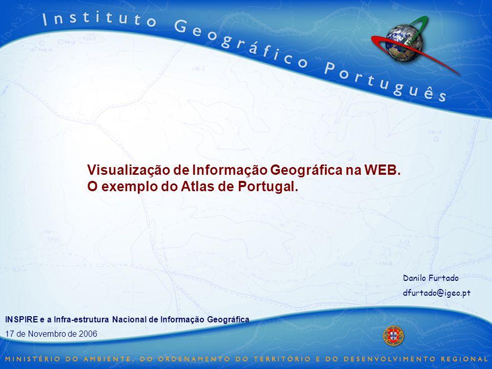 Visualização de Informação Geográfica na WEB
