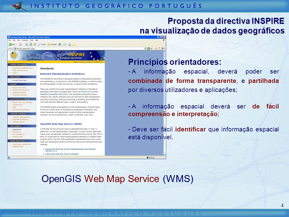OpenGIS Web Map Service (WMS)