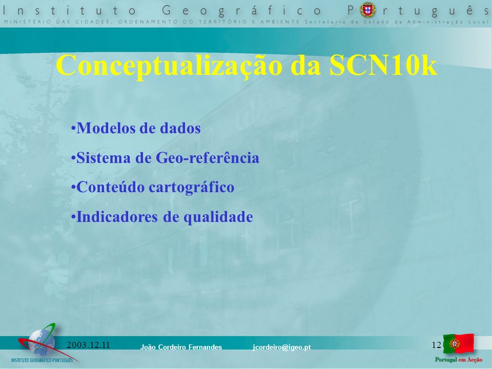 Conceptualização da SCN10k