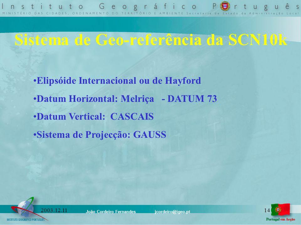Sistema de Geo-referência da SCN10k