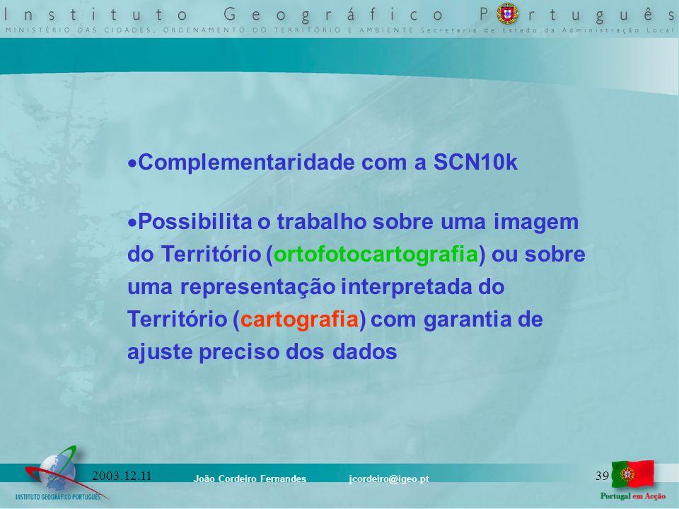 Complementaridade com a SCN10k