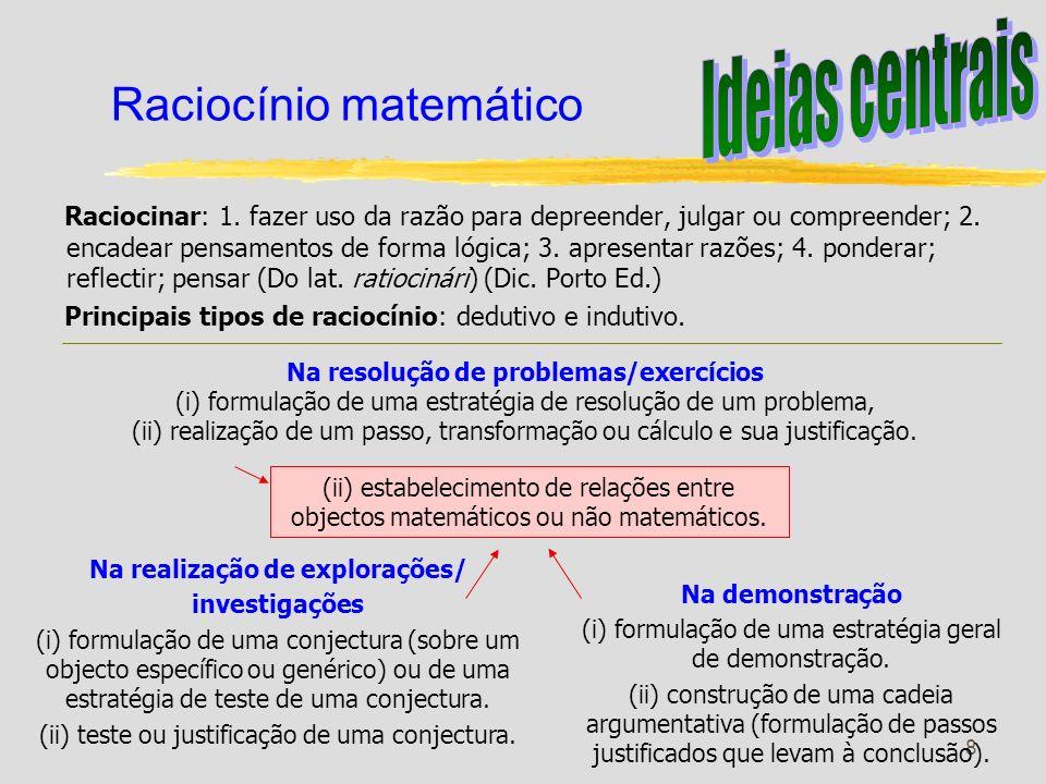 Raciocínio matemático