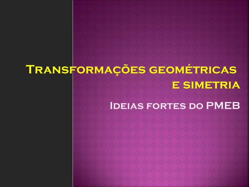 Transformações geométricas e simetria