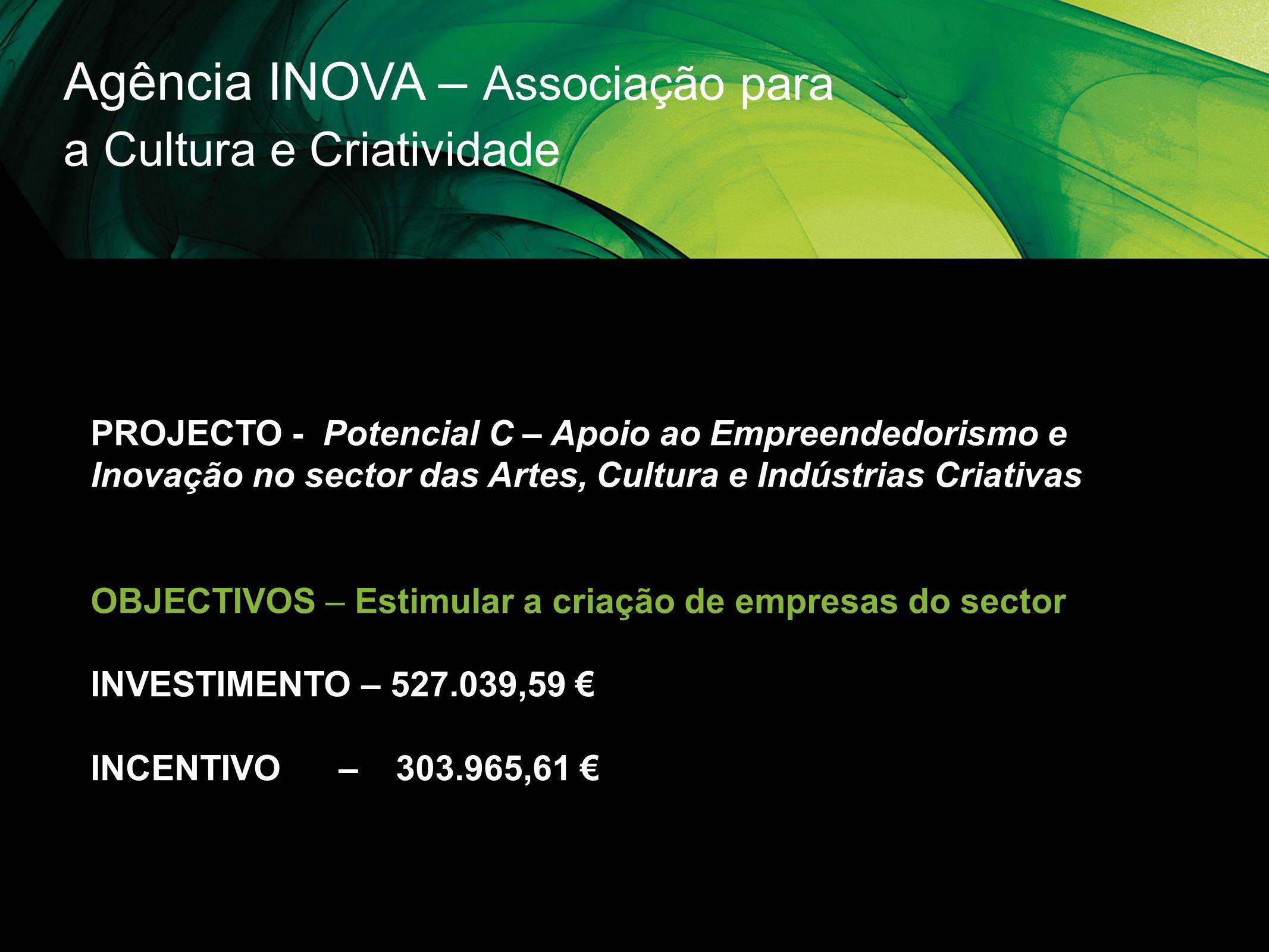 Agência INOVA – Associação para a Cultura e Criatividade