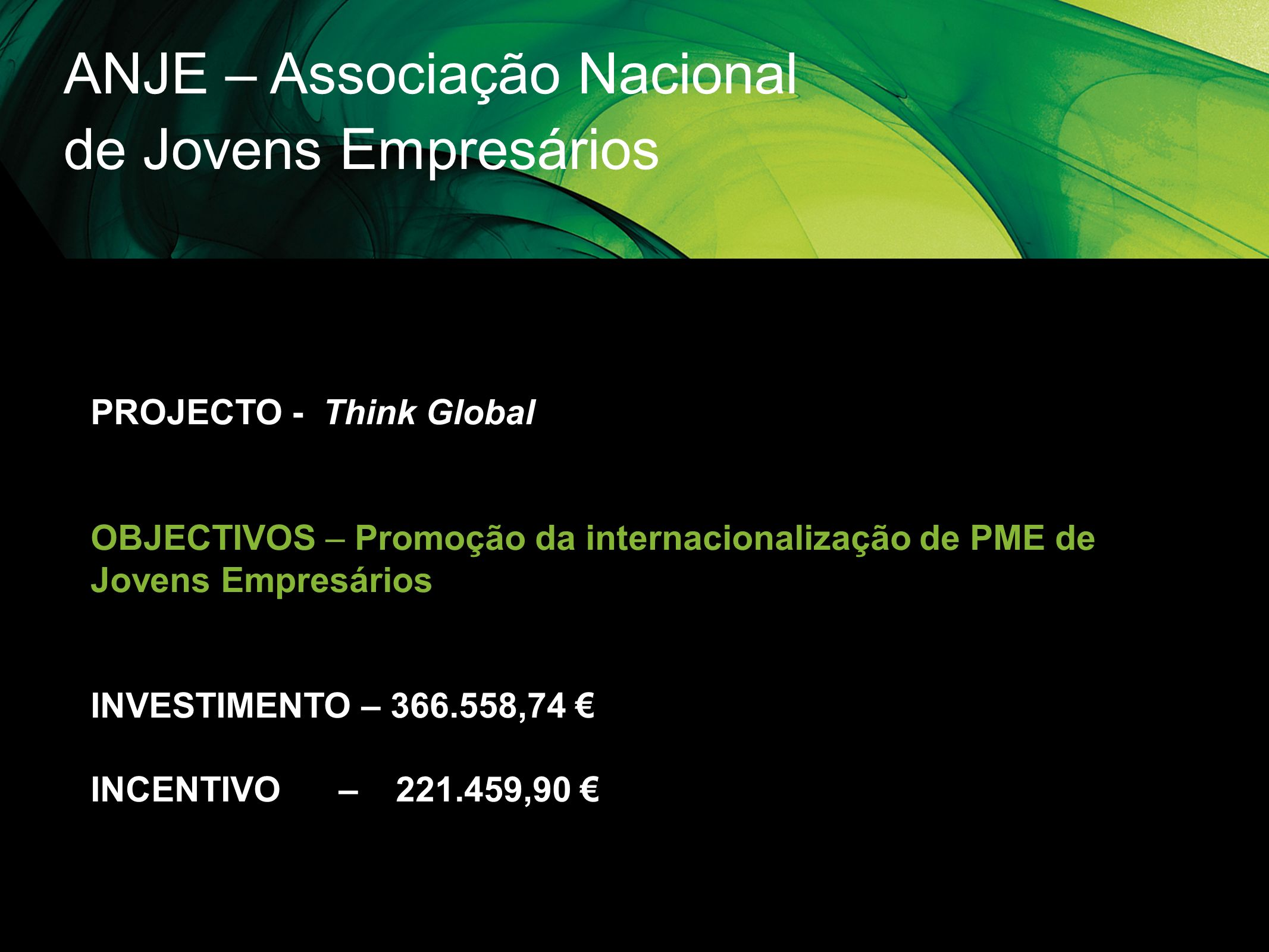 ANJE – Associação Nacional de Jovens Empresários