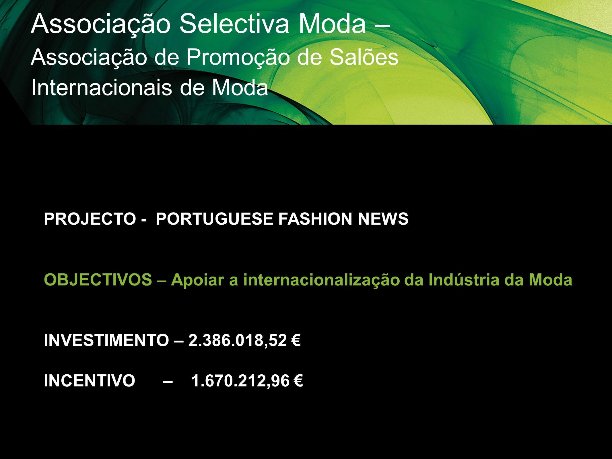 Associação Selectiva Moda – Associação de Promoção de Salões Internacionais de Moda