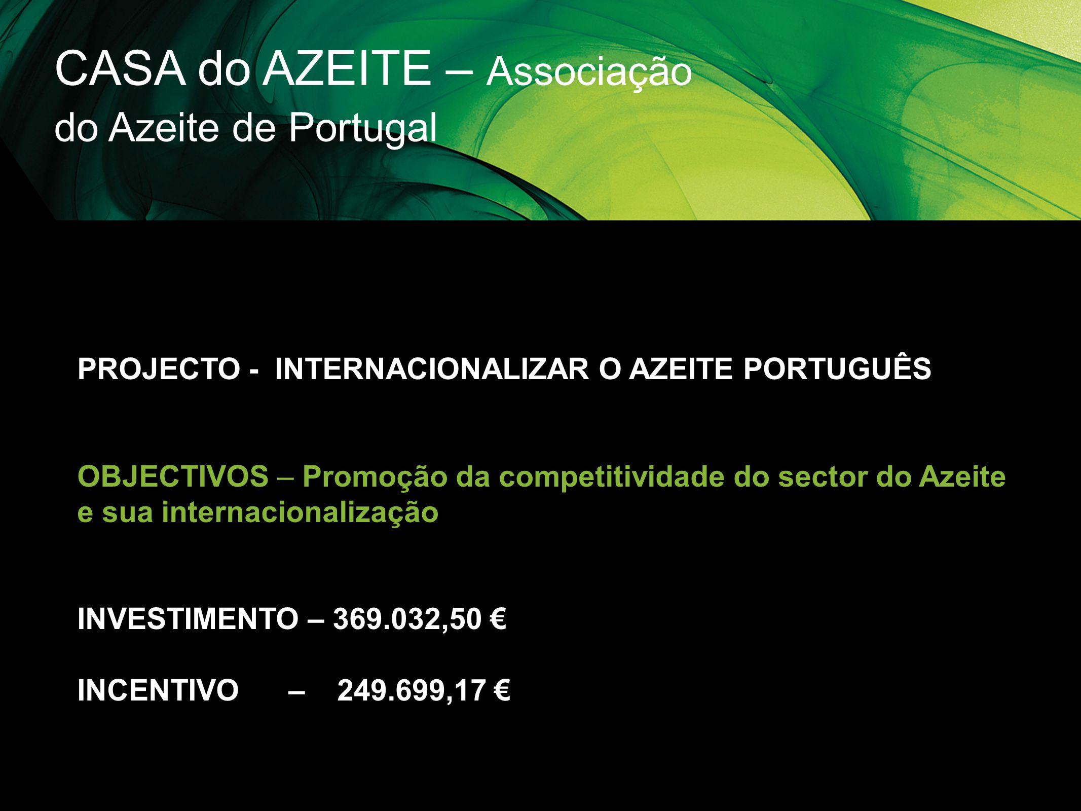 CASA do AZEITE – Associação do Azeite de Portugal