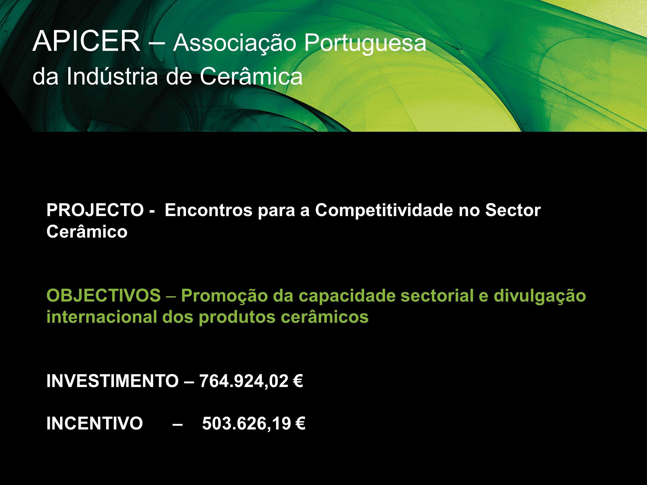 APICER – Associação Portuguesa da Indústria de Cerâmica
