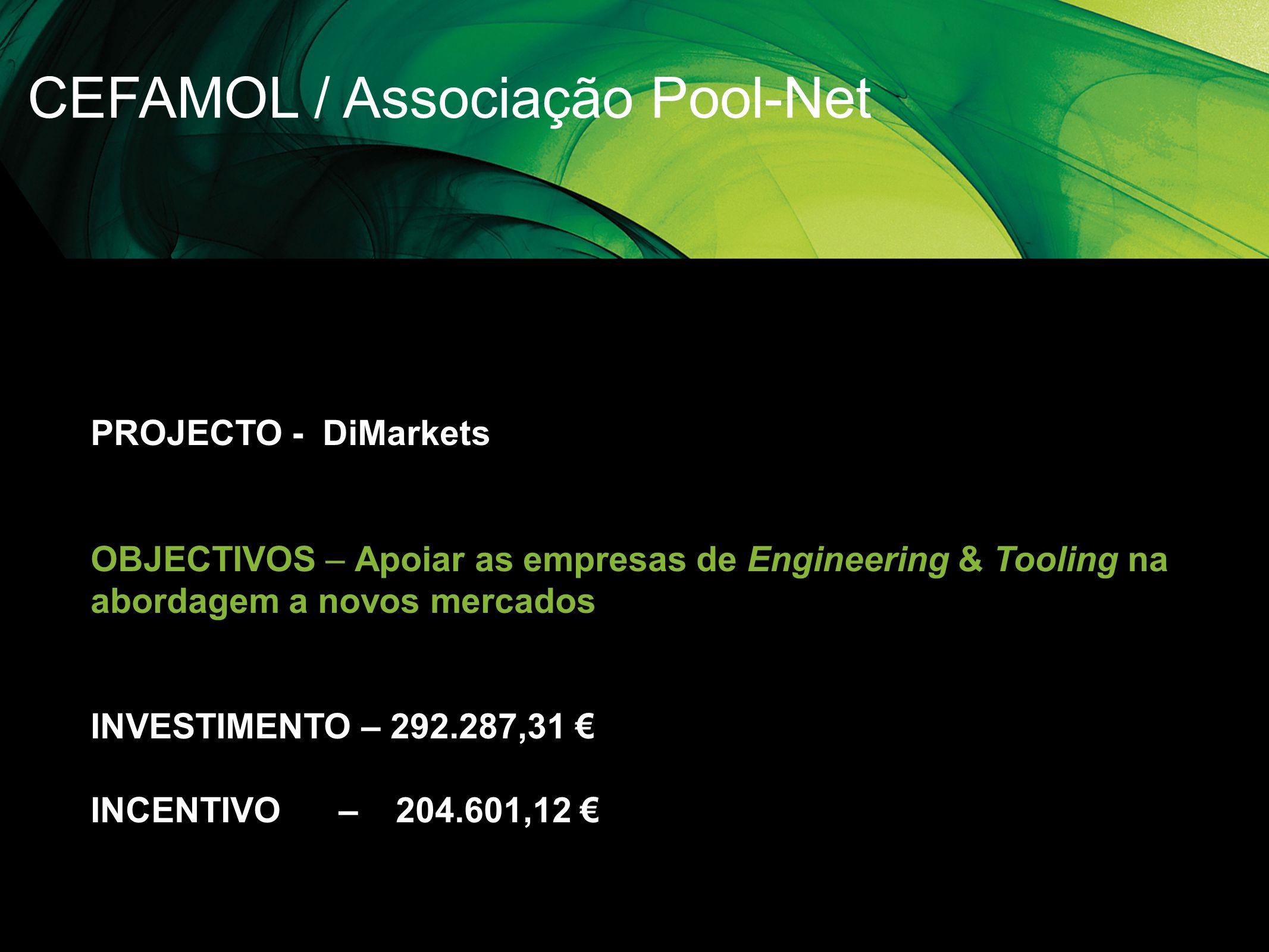 CEFAMOL / Associação Pool-Net