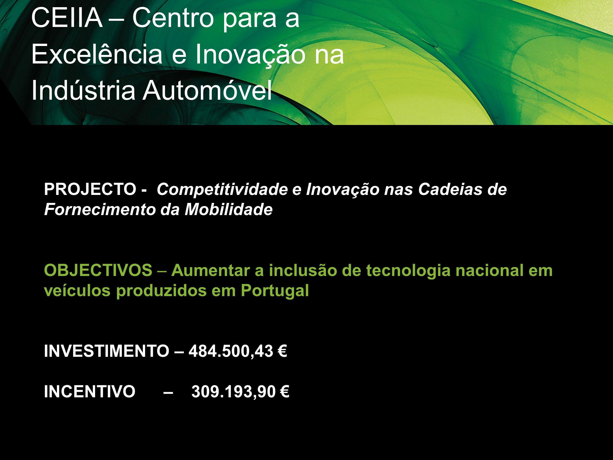 CEIIA – Centro para a Excelência e Inovação na Indústria Automóvel
