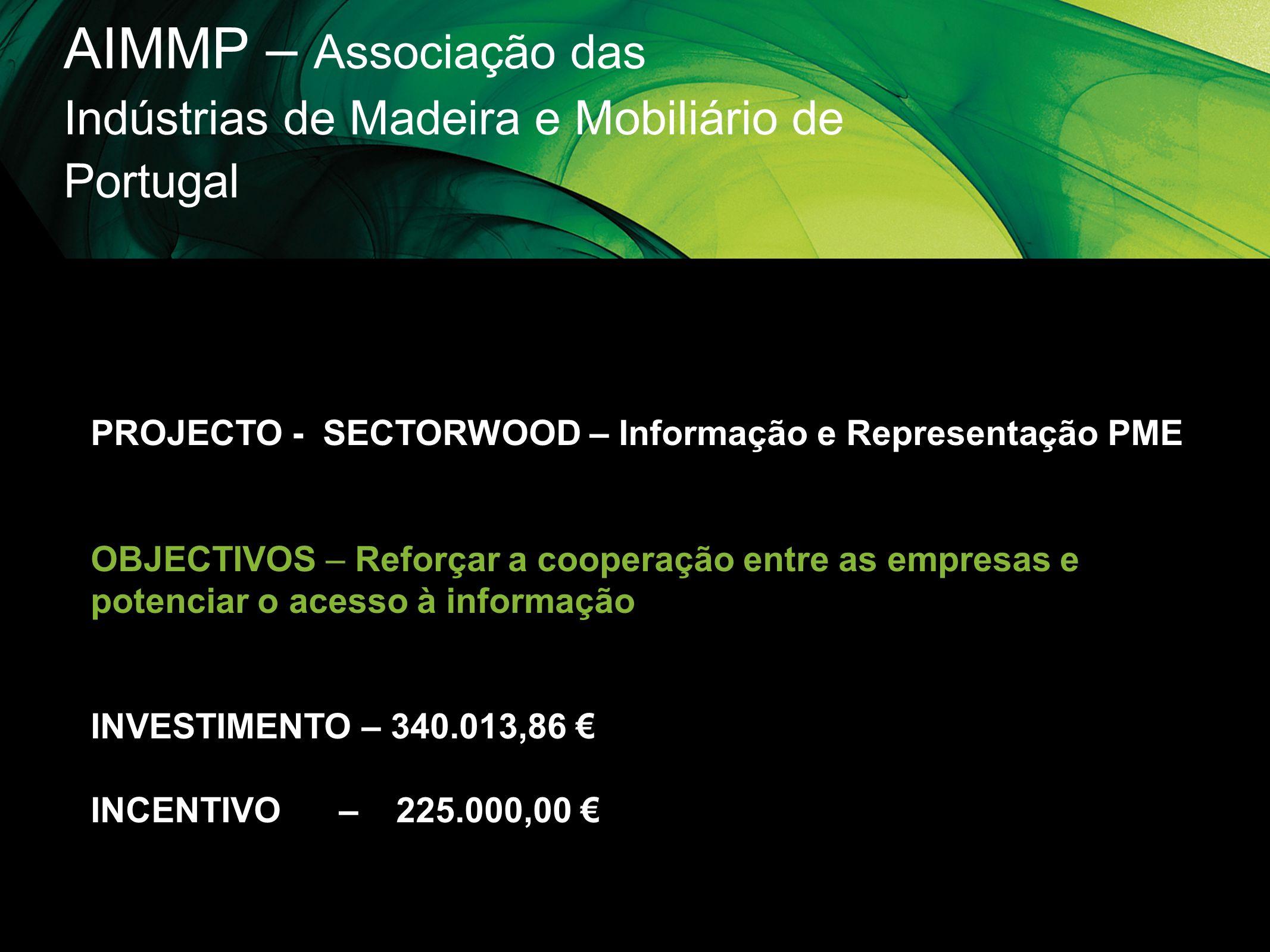 AIMMP – Associação das Indústrias de Madeira e Mobiliário de Portugal
