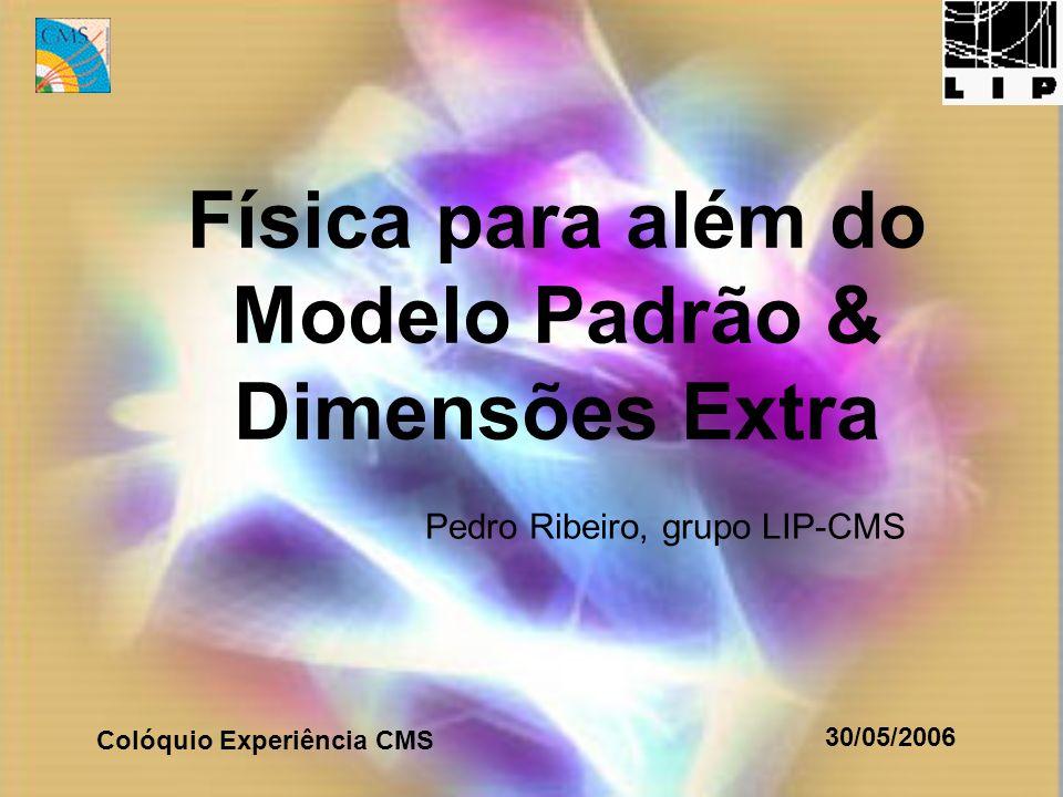 Física para além do Modelo Padrão & Dimensões Extra