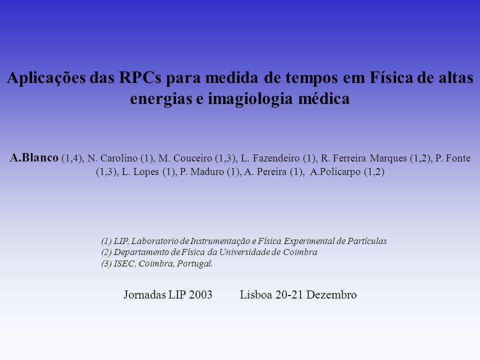 Jornadas LIP 2003 Lisboa 20-21 Dezembro