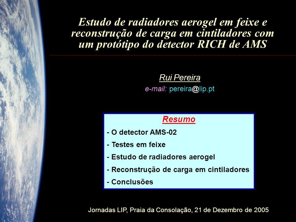 Rui Pereira e-mail: pereira@lip.pt