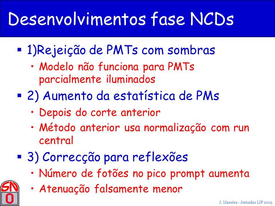 Desenvolvimentos fase NCDs