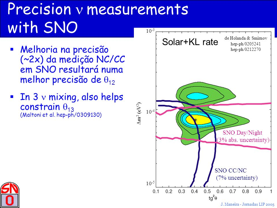 Precision n measurements with SNO