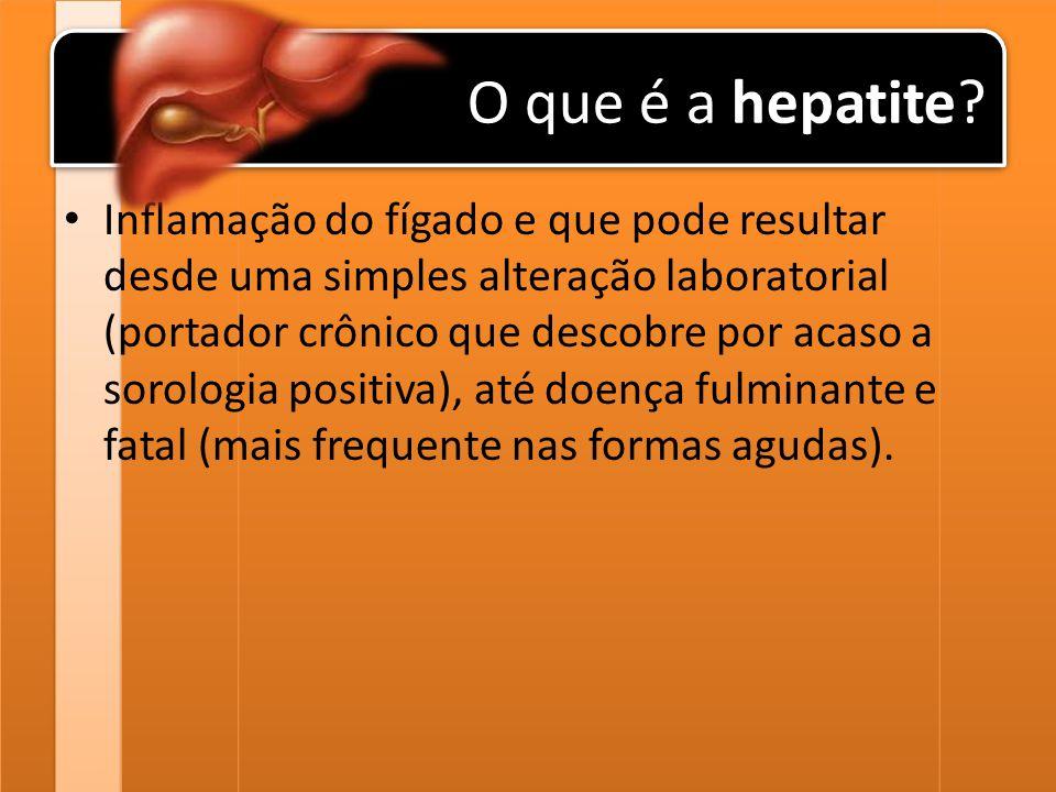 O que é a hepatite