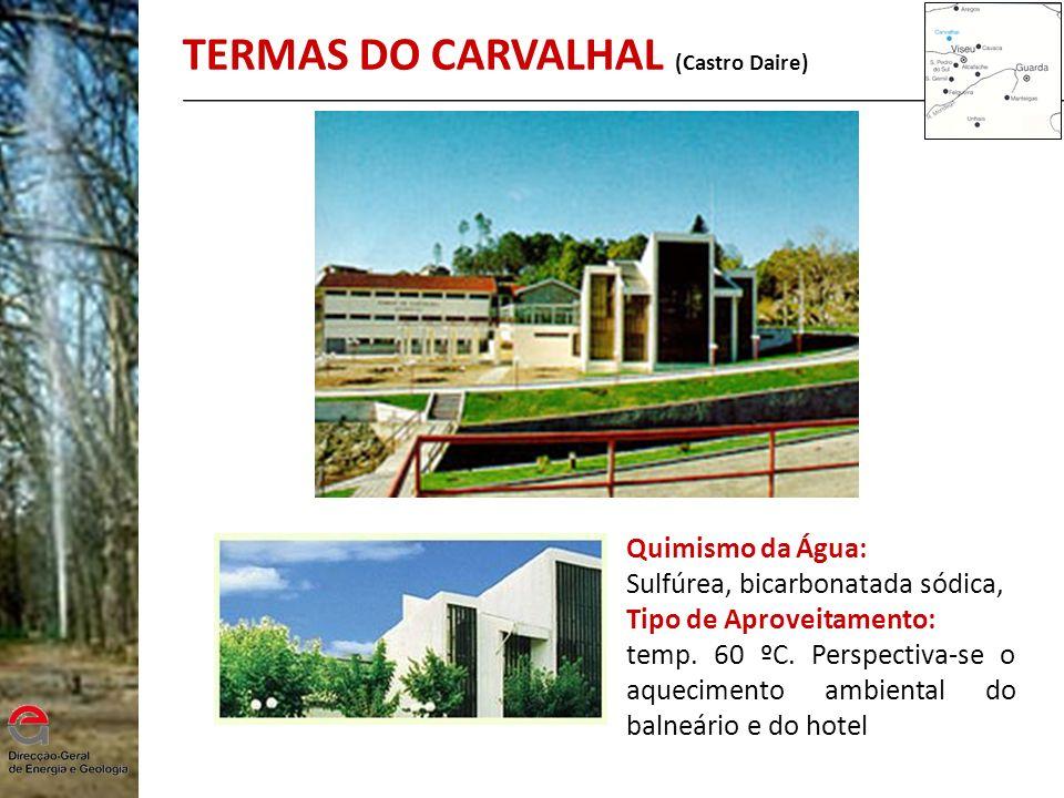 TERMAS DO CARVALHAL (Castro Daire)