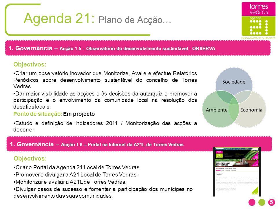 Agenda 21: Plano de Acção…