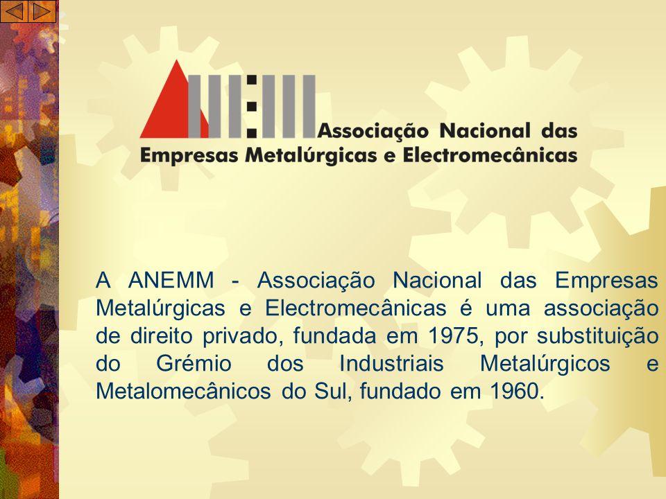 A ANEMM - Associação Nacional das Empresas Metalúrgicas e Electromecânicas é uma associação de direito privado, fundada em 1975, por substituição do Grémio dos Industriais Metalúrgicos e Metalomecânicos do Sul, fundado em 1960.