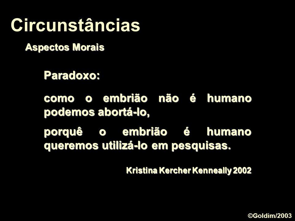 Circunstâncias Paradoxo: