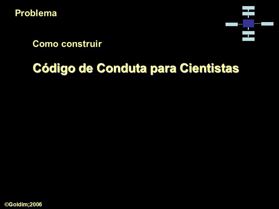 Código de Conduta para Cientistas