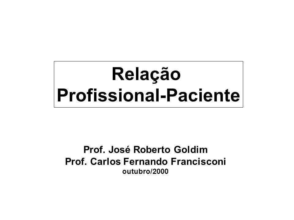 Relação Profissional-Paciente