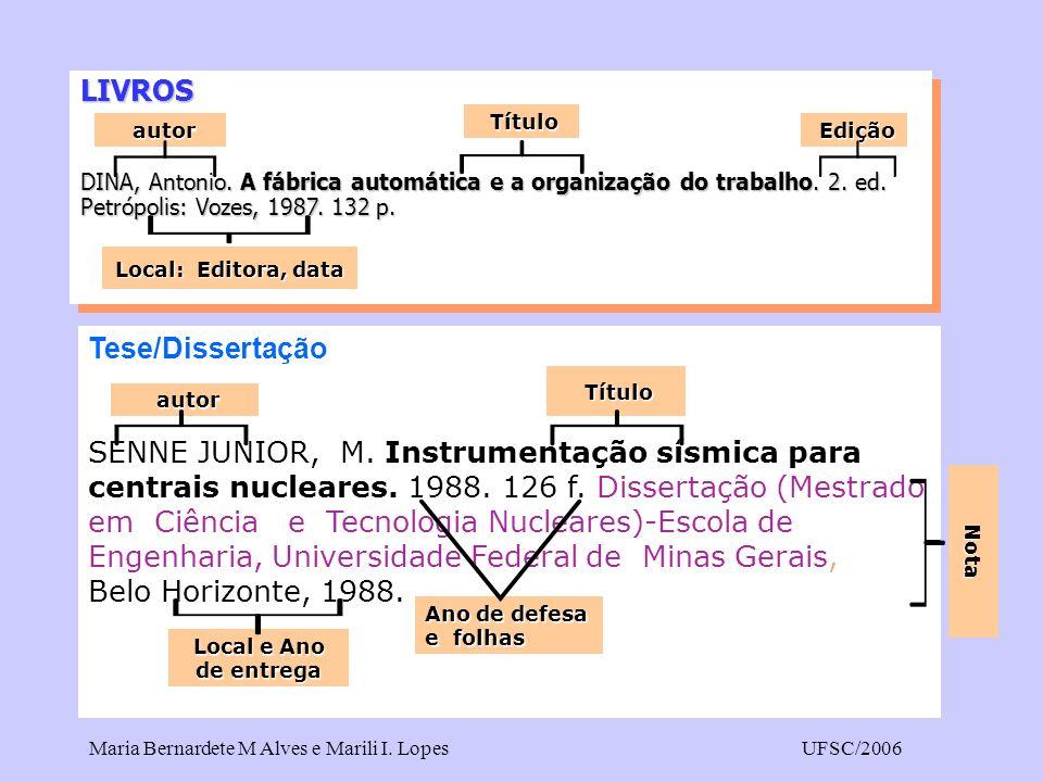 LIVROS Tese/Dissertação
